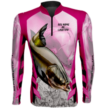 CAMISETA TRIBBUS FISHING FEM - TAMBAQUI 02